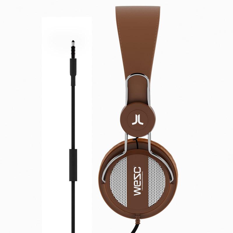 oboe headphones wesc 3d model