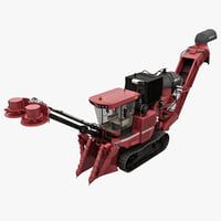 3ds max sugar cane harvester case