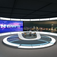 Tv News Studio 2