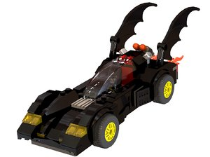 3d 3ds batmobile batman