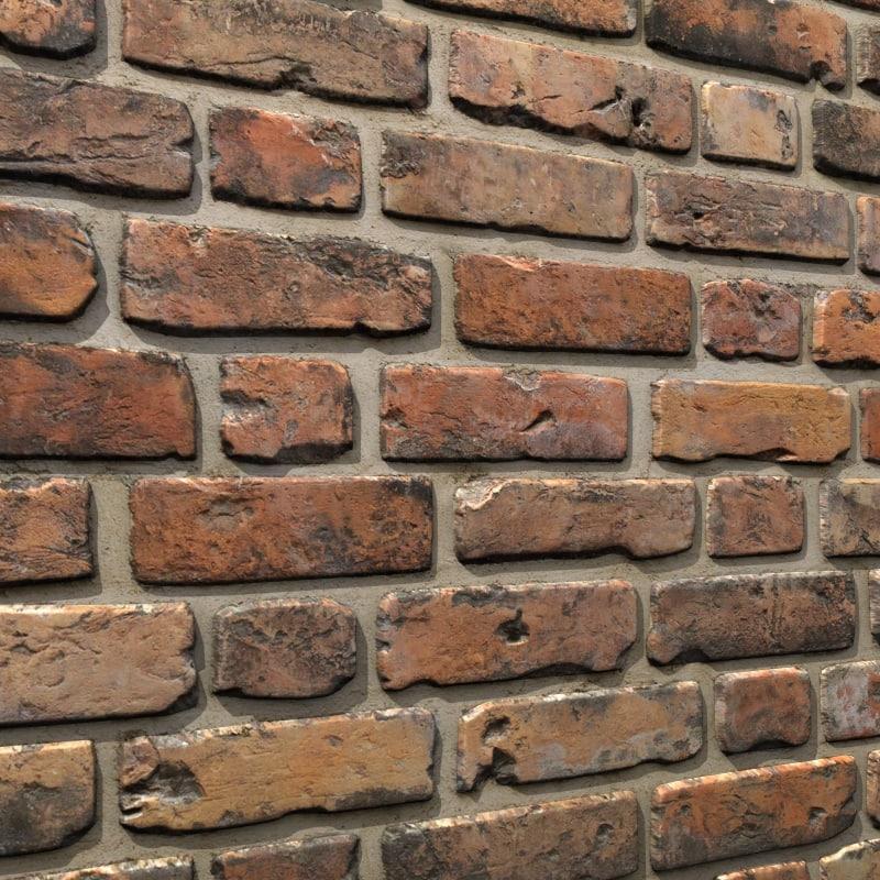 brick wall 08 3d model