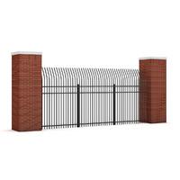 concrete fence max