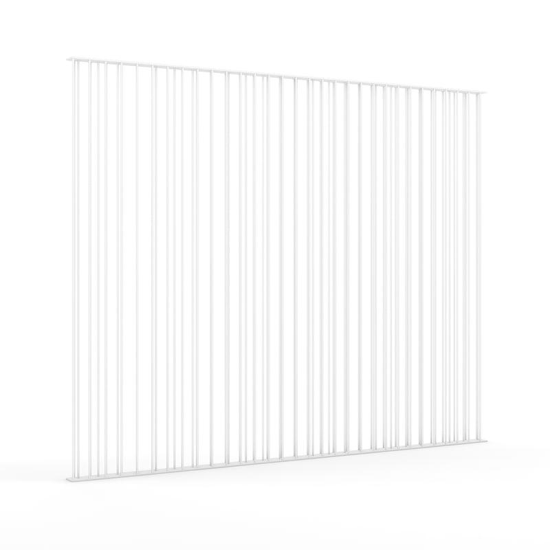 3d model metal fence