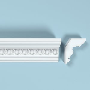 3d peterhof cornice k104 model