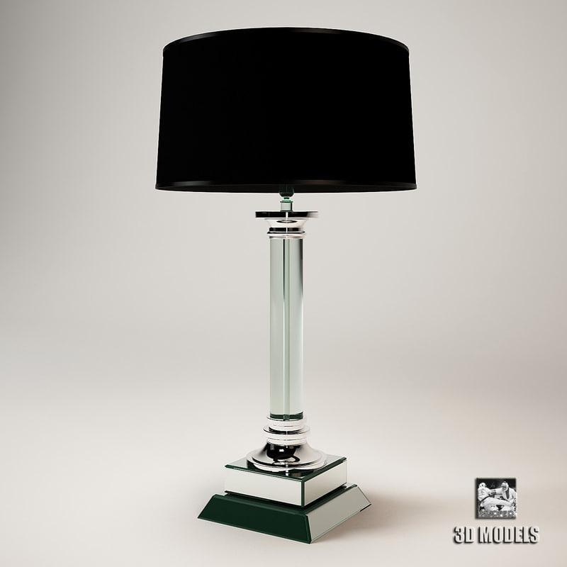 3d eichholtz lamp metropolis