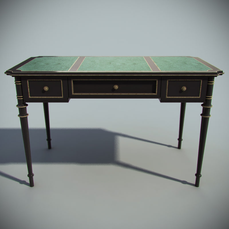 3d luxury office table