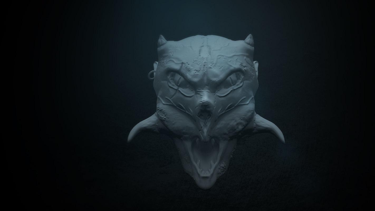 obj monster face