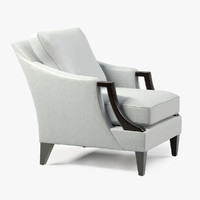 3d holly encore club chair model