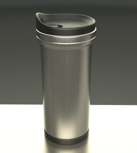 thermal coffee mug 3d max