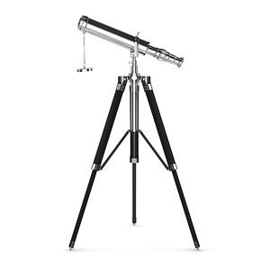 3d telescope model