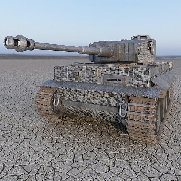 max tiger ii german tank