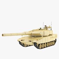 3d leopard tank