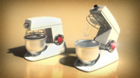 mixer wodschow 3d max