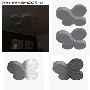 ceiling lamp kadiseng zyx 3d 3ds