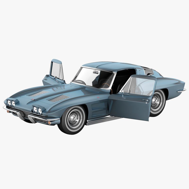 chevrolet corvette c2 rigged car max