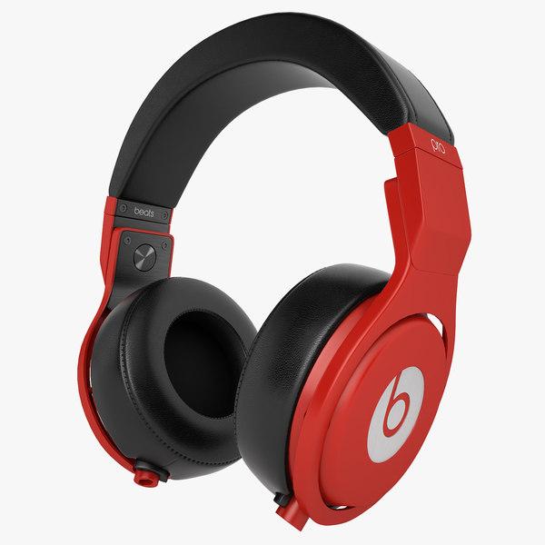 3d model headphones monster beats