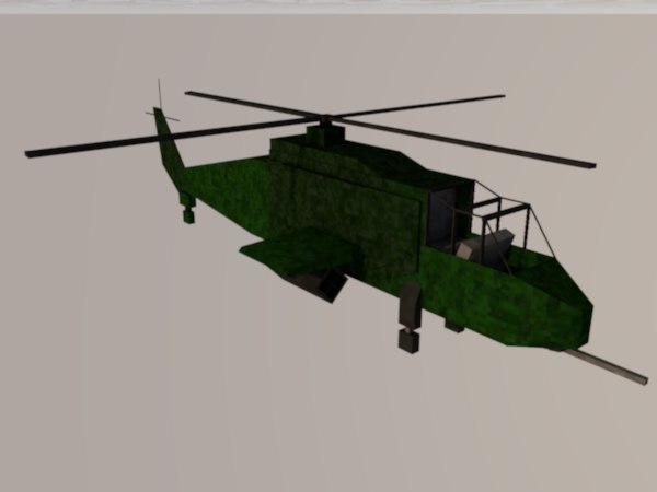 minecraft attack helicopter c4d
