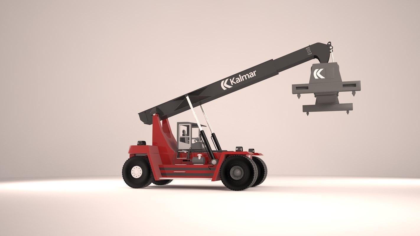 3dsmax heavy crane