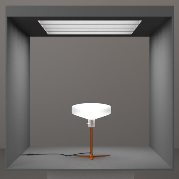 3d hd lamp design