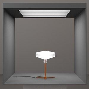 3d hd lamp design