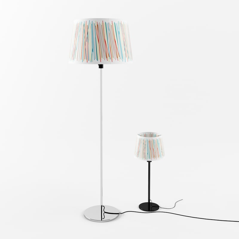 ikea malin trad lamp 3d model