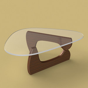 3d model noguchi table