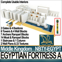 Egyptian Fortress A Middle Kingdom