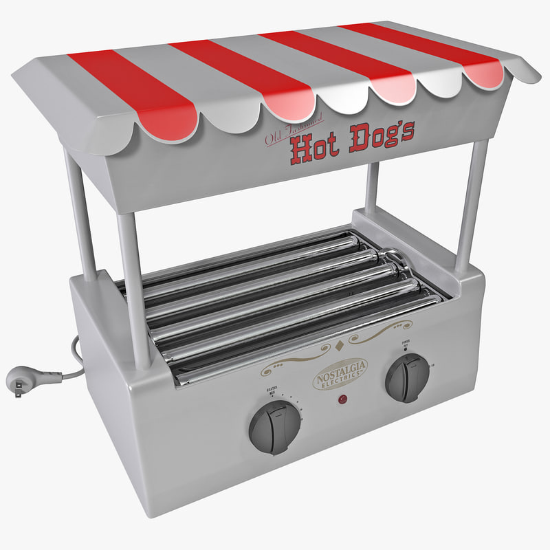 Old fashion hot dog roller 73