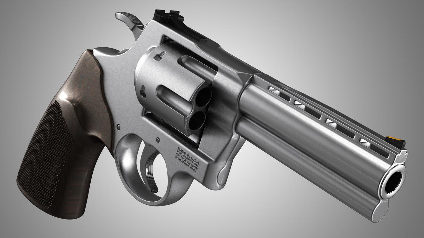 3ds smith wesson revolver