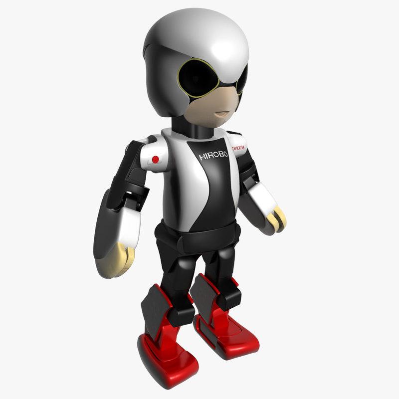 3ds max kirobo robot robo