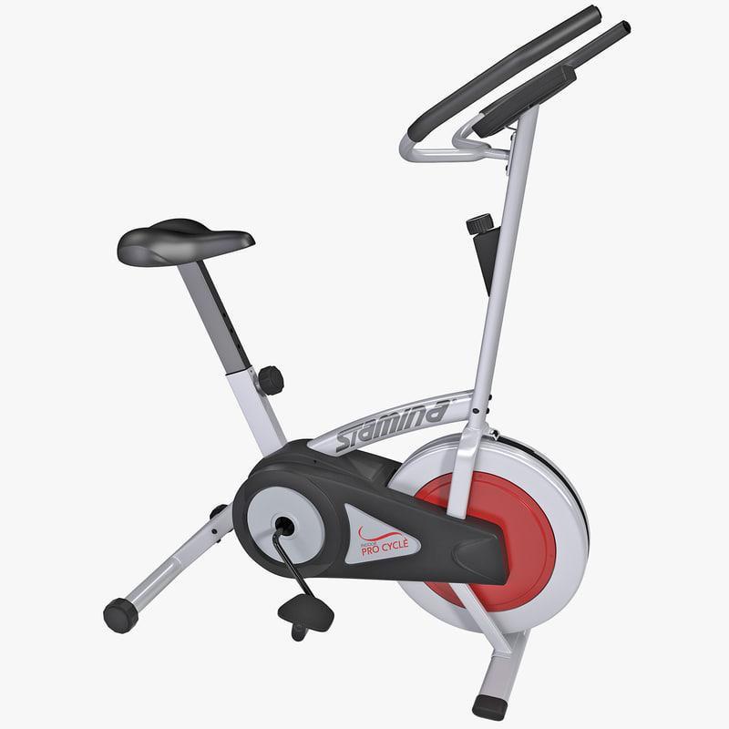 3d stamina indoor pro cycle model