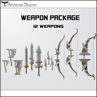 fantasy weapons bow 3ds