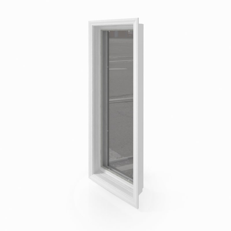 free window v-ray 3d model