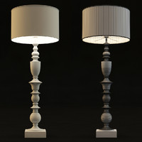 Ivory Large Table Lamp