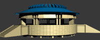 free coliseum roman gladiators arena 3d model