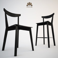 Dining Chair + Barstool Set Evergreen