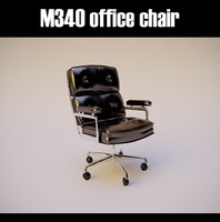 3d m340 office chair