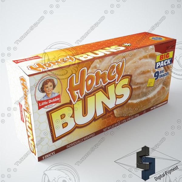 3d little debbie honey buns