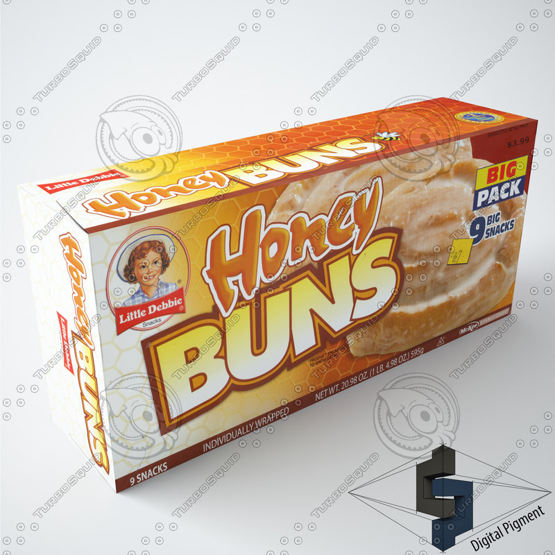 3d little debbie honey buns