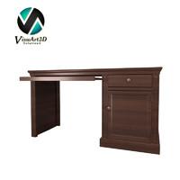 desk materials 3d model