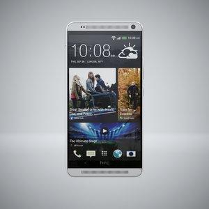 htc smartphone studio 3d model