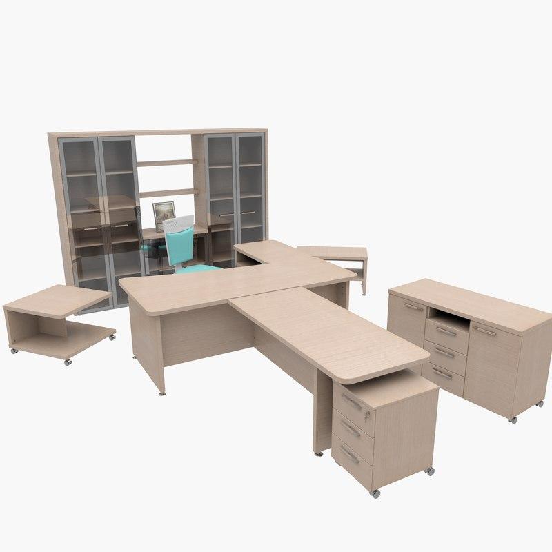 3d model office furniture