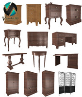 old furniture 3d 3ds