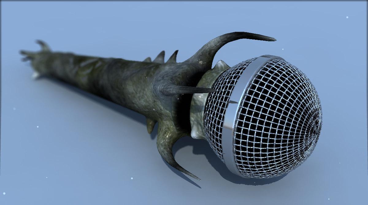 free max mode heavy metal microphone
