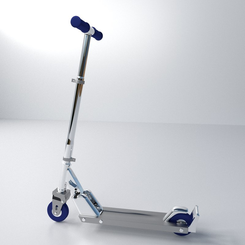 3ds push scooters