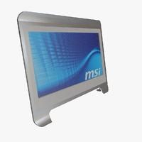 3d msi windtop ae1900 schematic model