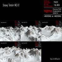Snowy Terrain MC-01