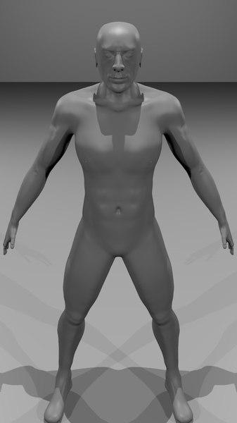 sculpt-version jeffrey dean sculpted obj free