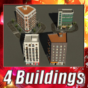 3d building 21-24 collections