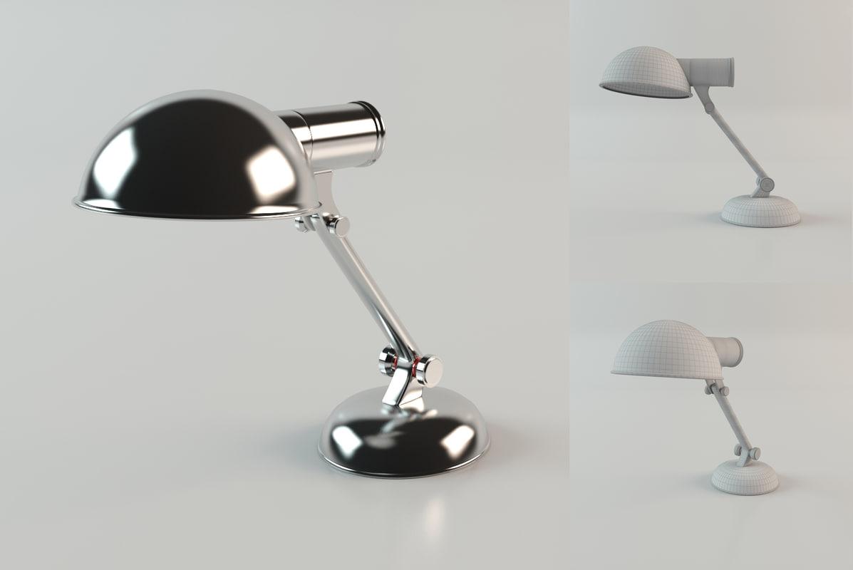eichholtz lamp 3d model